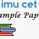 IMU CET Sample Paper 2019
