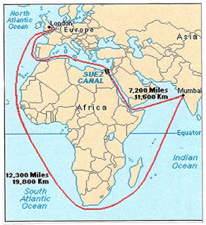 Suez Canal Map Suez Canal History, Facts, Importance, Map and New Suez Canal  Suez Canal Map