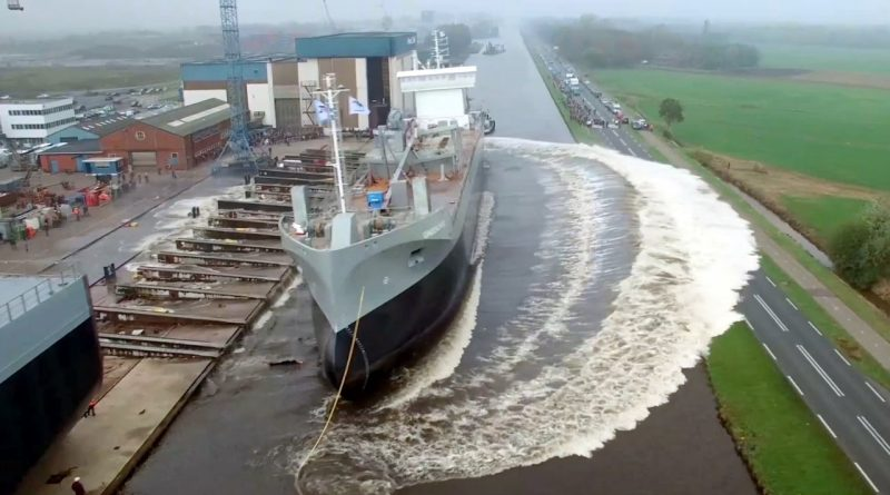 ship launching