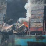 Update: Maersk Honam Fire Incident, 4 Dead and 1 Crew Still Missing