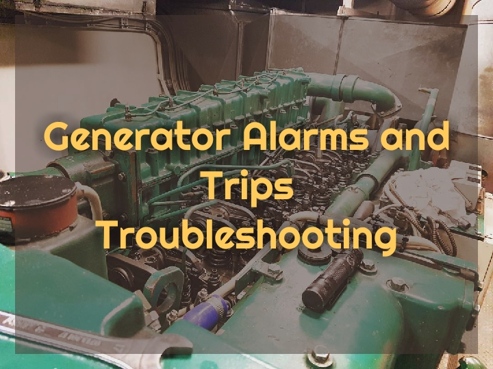 Generator Alarms And Trips