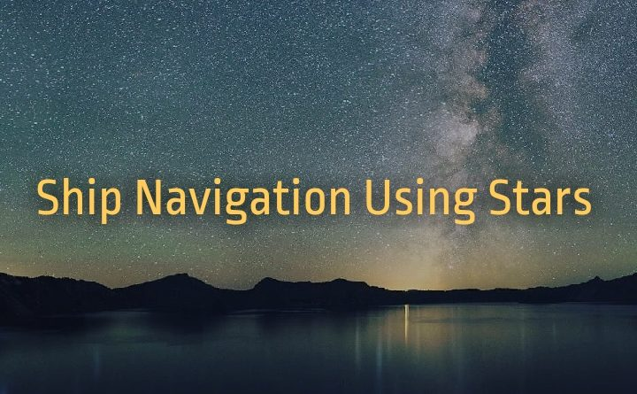 ship navigation using stars