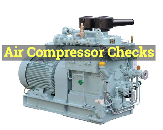 air compressor checks