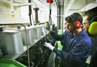marine engineering, marine engineer, starting diesel generator