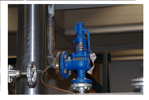 boiler safety valve setting