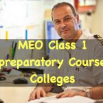 MEO Class 1 Preparatory Course Institutes