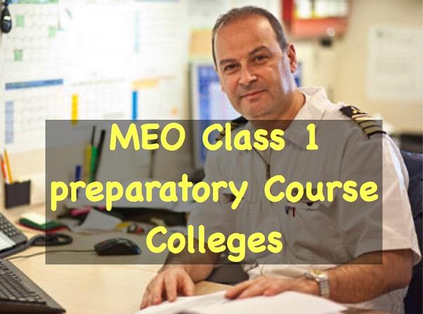 meo class 1 preparatory course