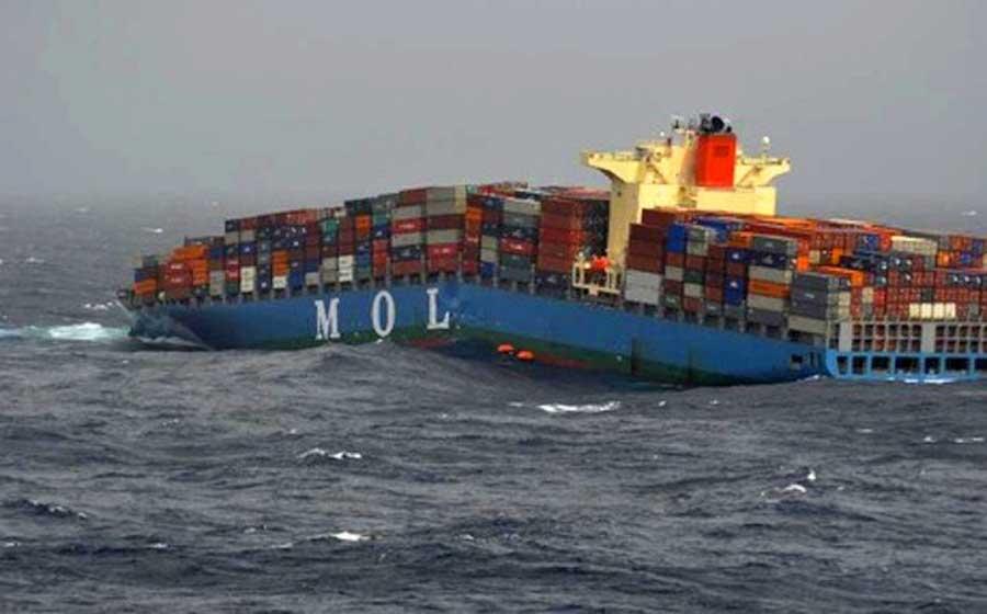 stresses on ship