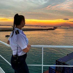 woman at sea, life of a cadet, cadet