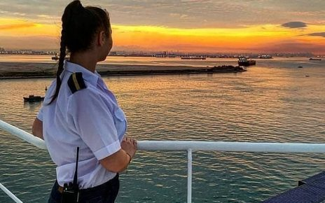 woman at sea, life of a cadet, cadet