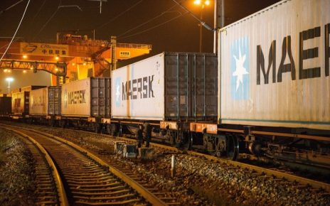 Maersk Starts Cargo Train