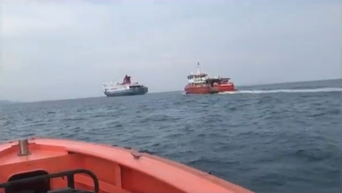 Passengers Evacuated Safely