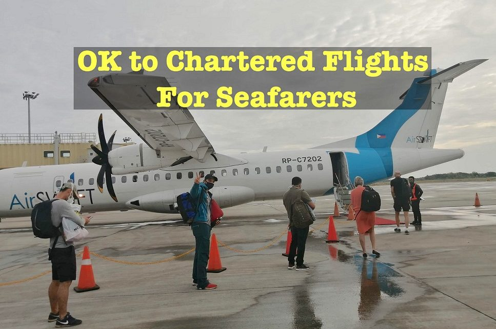 chartered flights