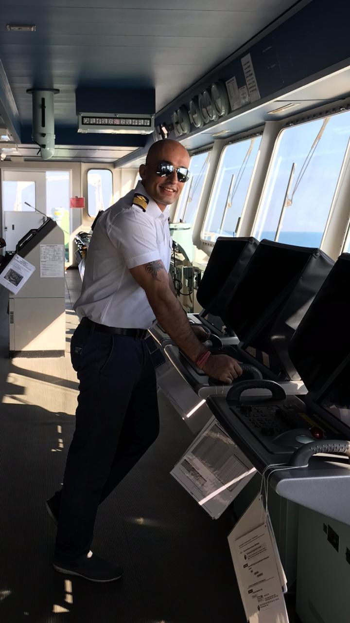 Captain of merchant ship