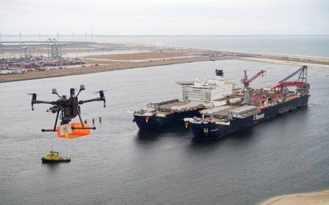Drone deliver supplies