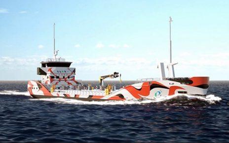 Zero-Emission Electric Tanker