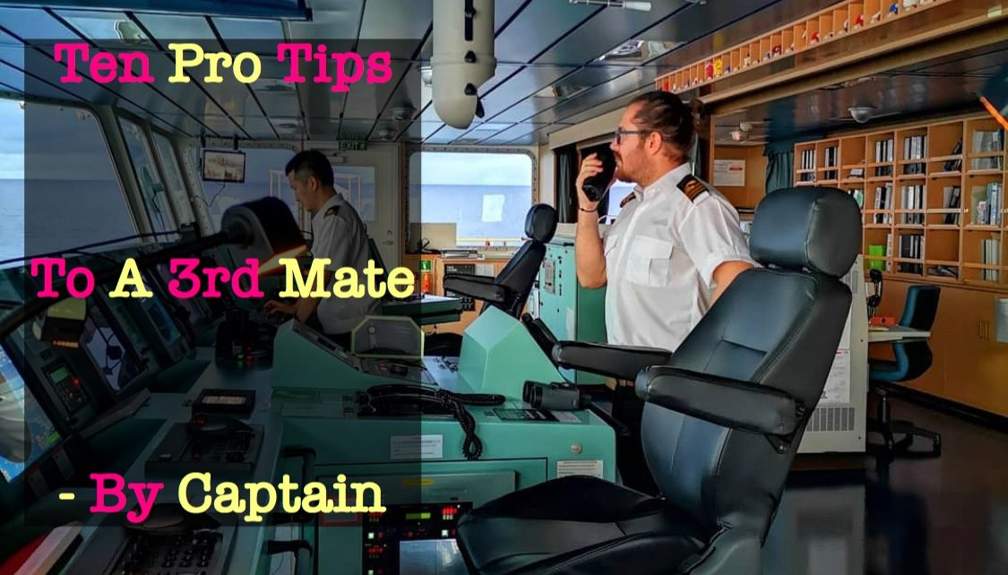 Pro Tips 3rd Mate