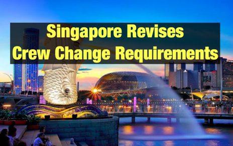 Singapore Revises Crew Change