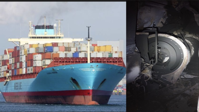 Laura Maersk To Go For Repairs