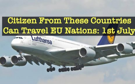 You can travel To Europe from 1st July