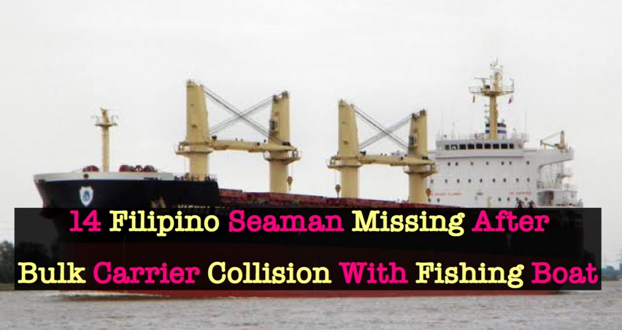 14 Filipino Crew Members Missing