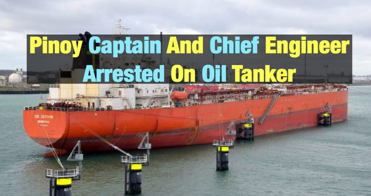 Captain and Chief Engineer Detained