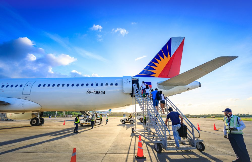 Philippines Airlines International Flight List