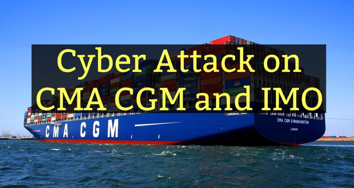 cyber attack on cma cgm