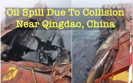 OIL SPILL QINGDAO